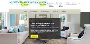 web design for servicemaster